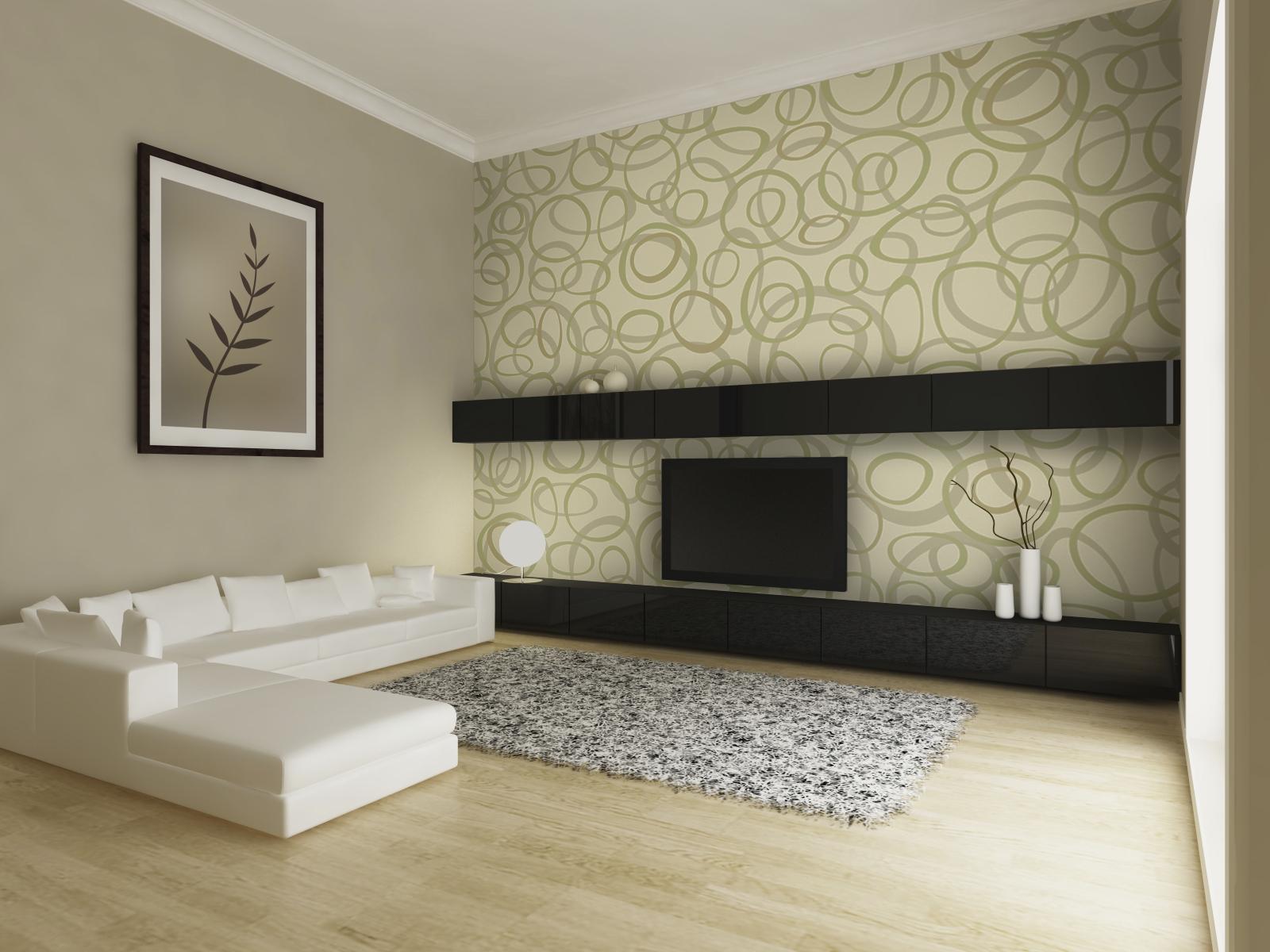 ремонт квартиры обои дизайн фото разные стены вариант должен иметь