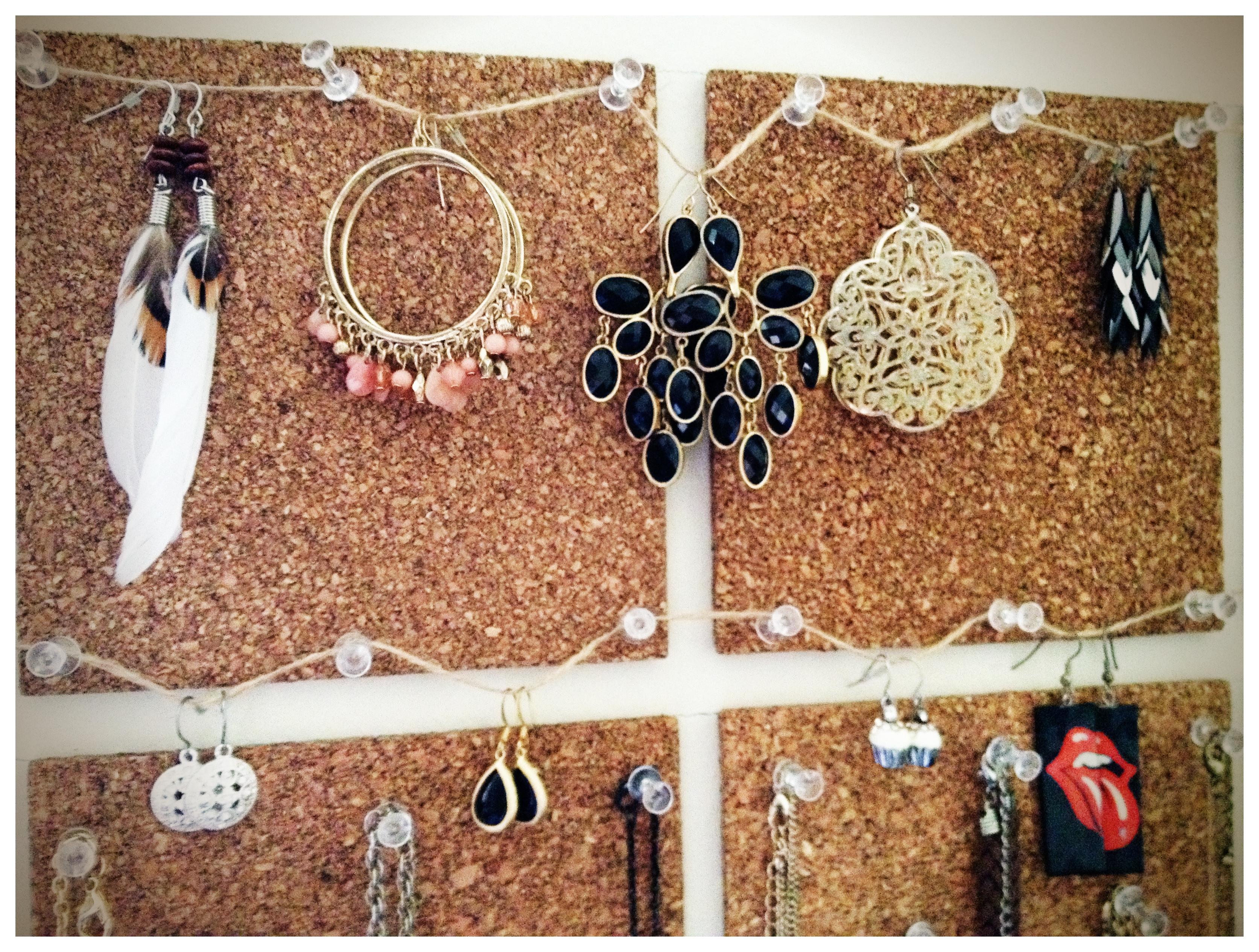 Подставка для украшений и бижутерии - 50 идей