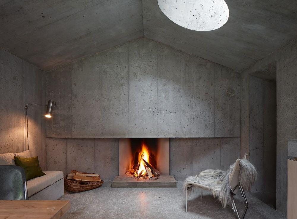 Бетон минимализм прессования бетона