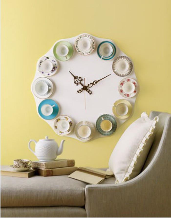 Фото идей для настенных часов своими руками