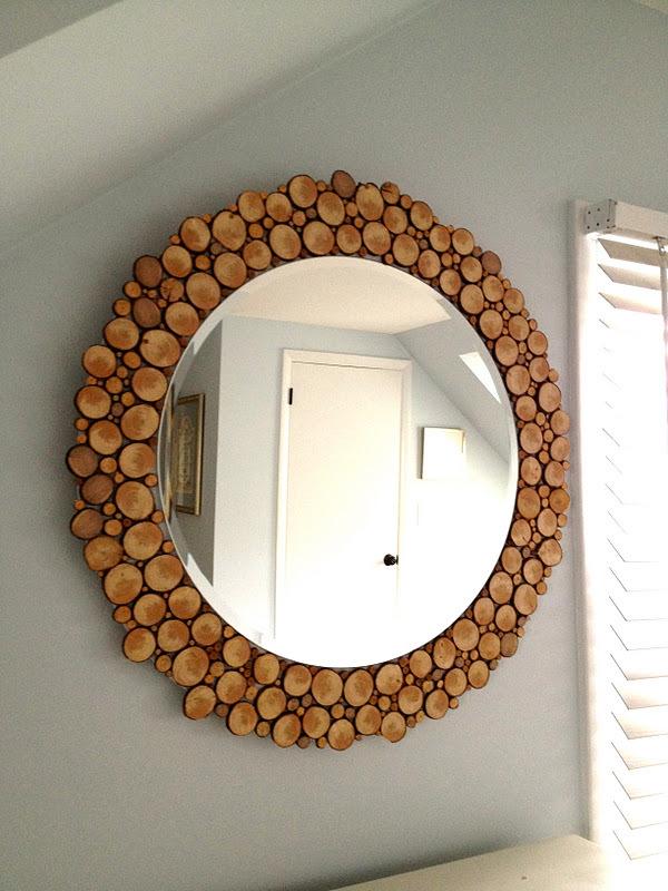 Деревянные зеркала своими руками