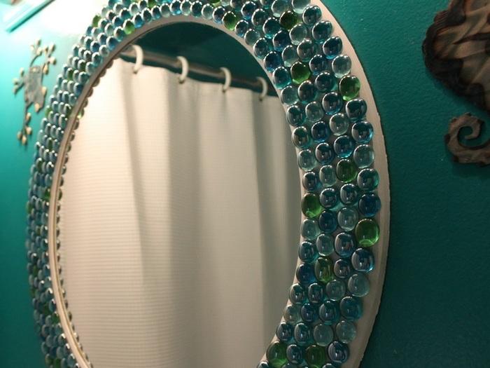 Украсить зеркала