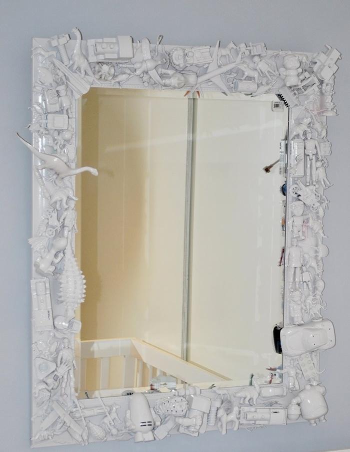 Как сделать зеркало в рамку своими руками
