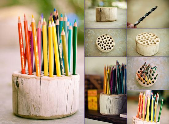 Декор карандашей своими руками 990