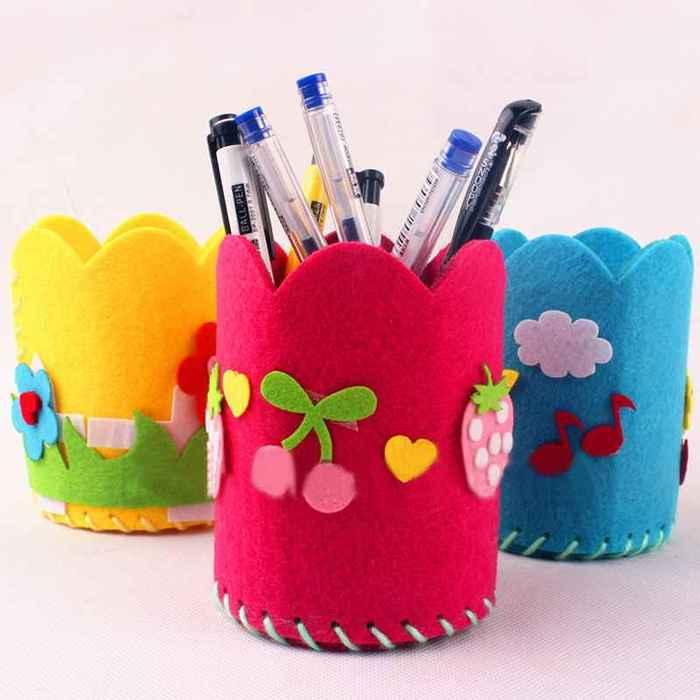Карандашница для девочек своими руками