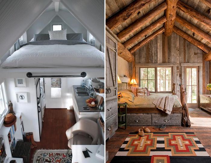 Дизайн комнат со скошенным потолком мансарда