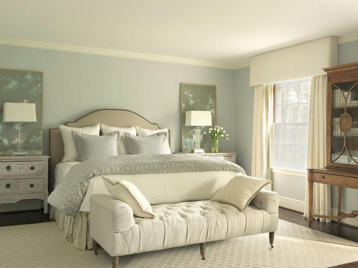 цвет в спальне рекомендации психологов для полноценного отдыха