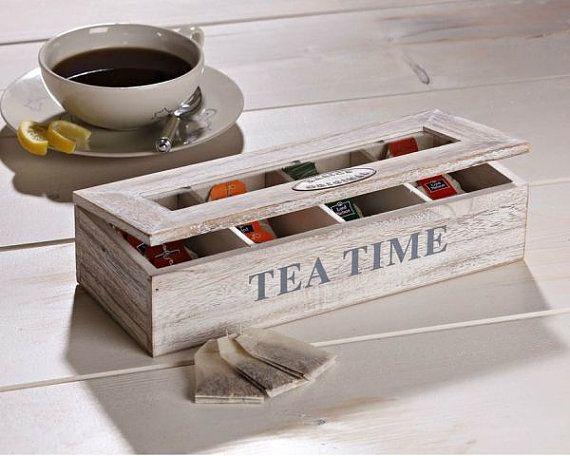 Коробочки для хранения чая