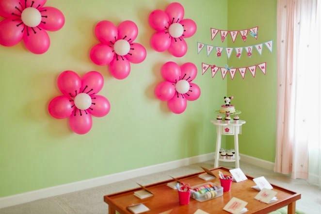 Как украсить комнату на день рождения своими руками 26