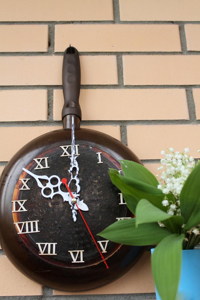 fry pan wall clock на АлиЭкспресс — купить онлайн по выгодной цене
