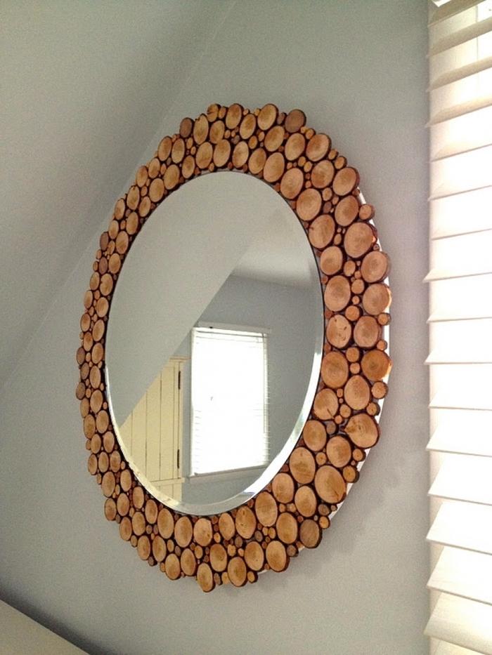 Декор для треснутого зеркала
