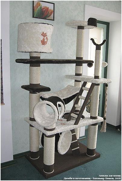 Сделать комплекс для кошек своими руками - Pressmsk.ru