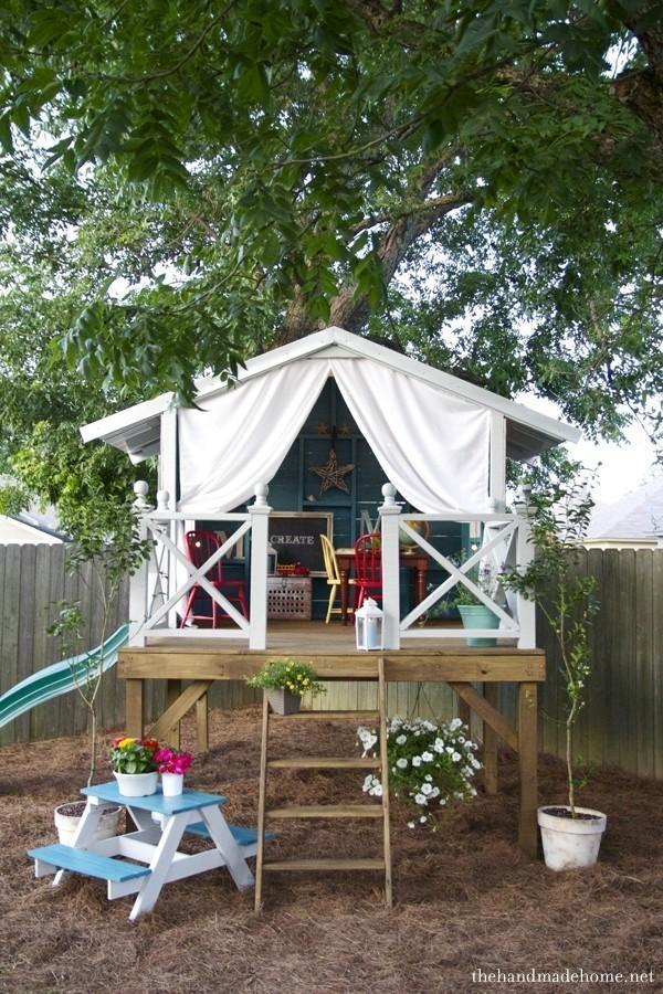 Детская домик своими руками на даче