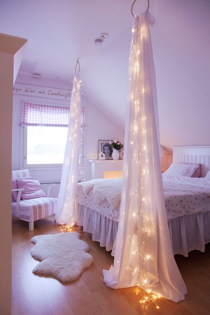 Как сделать балдахин над кроватью фото 754