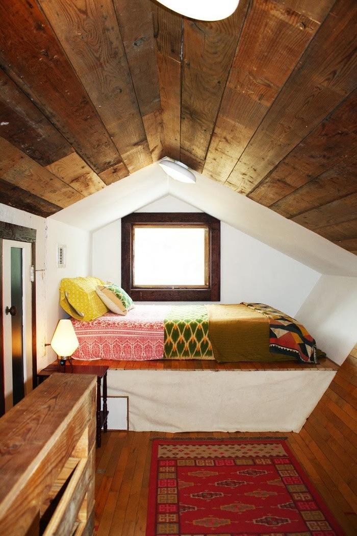 Чердак своими руками в деревянном доме