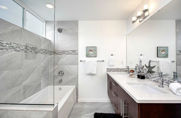 Farmhouse faucet bathroom