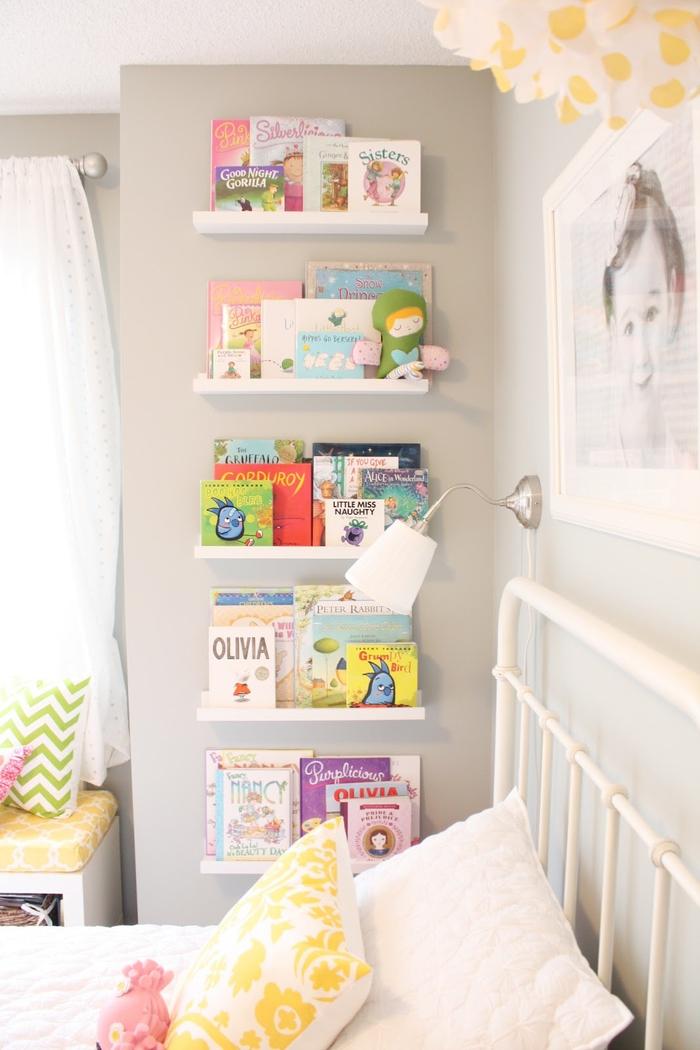Дизайн полок для детской фото