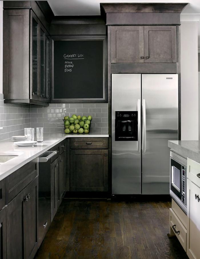 триммерных фото кухонь с серебристым серым холодильником афганистане фото