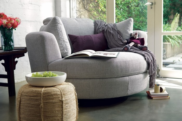 Tobias Chesterfield Sofa and Ottoman by Decenni  Special