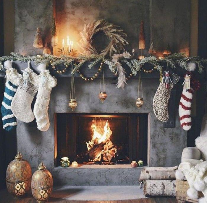 красивые зимние картинки домашнего уюта