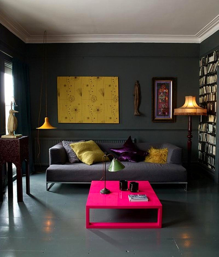 50 Dream Interior Design Ideas for Colorful Living Rooms