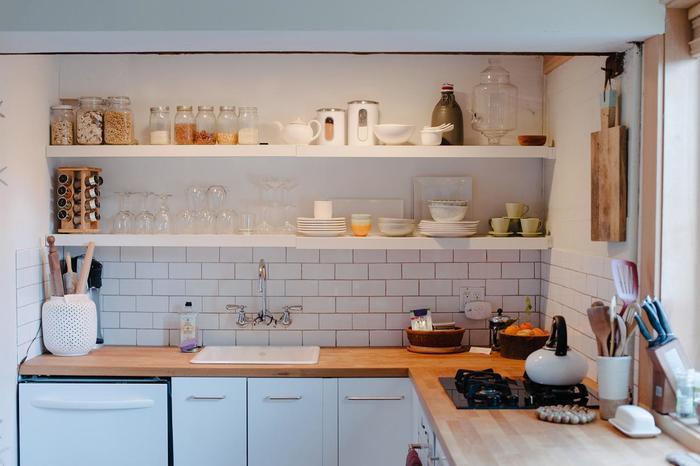 Полки на кухне своими руками фото 67