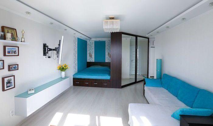 Дизайн однокомнатной хрущевки 30 квм для семьи с ребенком