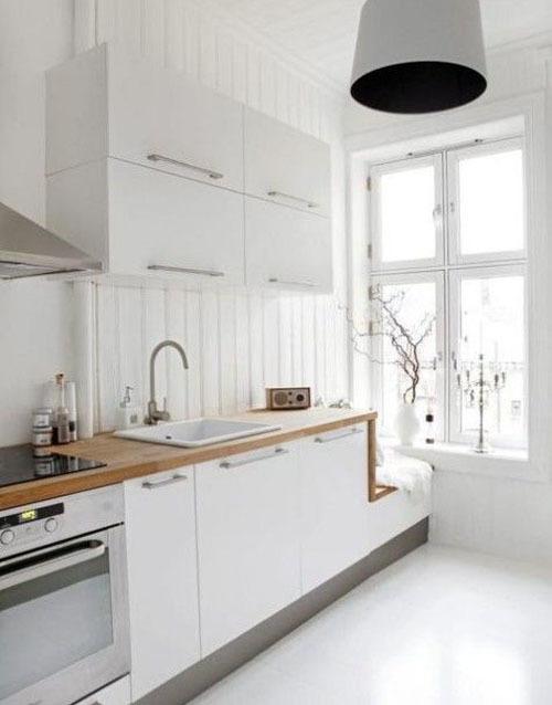 Маленькая кухня: ТОП-50 идей планировки и дизайна