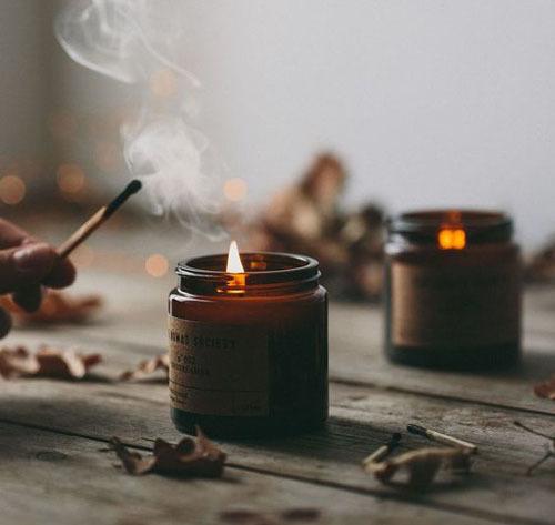 свечи на кухне