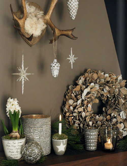 зимний декор комнаты diy