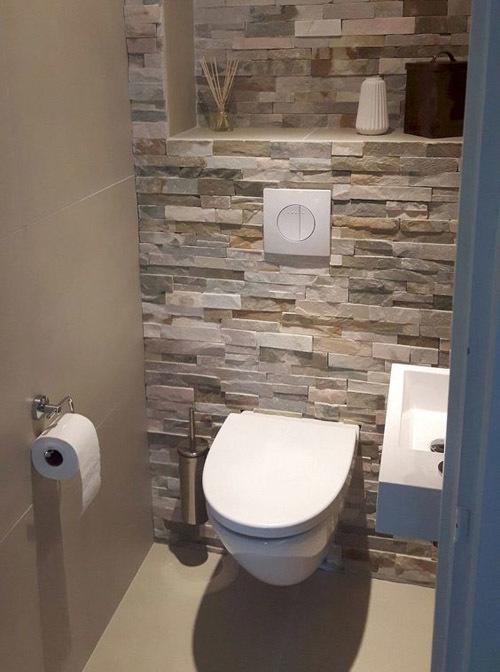 подвесной унитаз в туалете фото