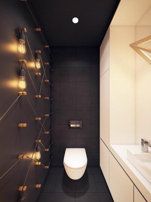 освещение в туалете в хрущевке фото