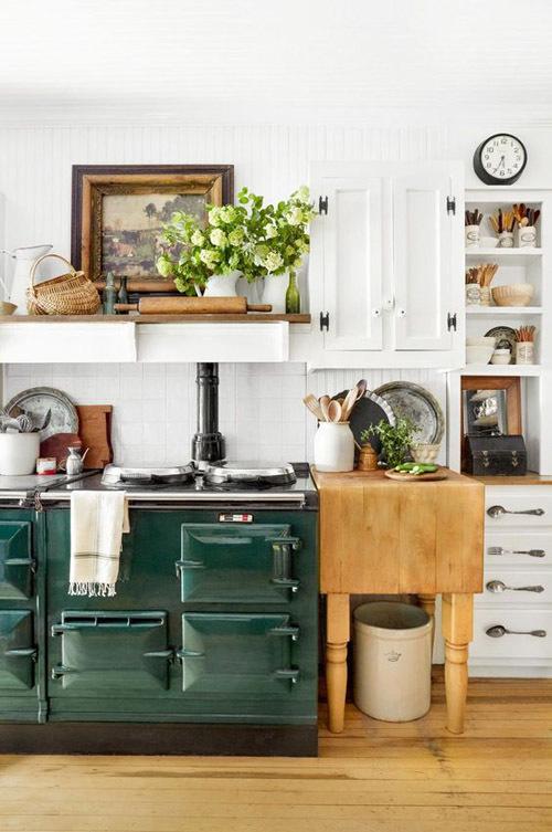 The Polished Pebble Modern Country Style Kitchen Storage: Кухня в стиле кантри 🌿: гид по стилю (69 фото