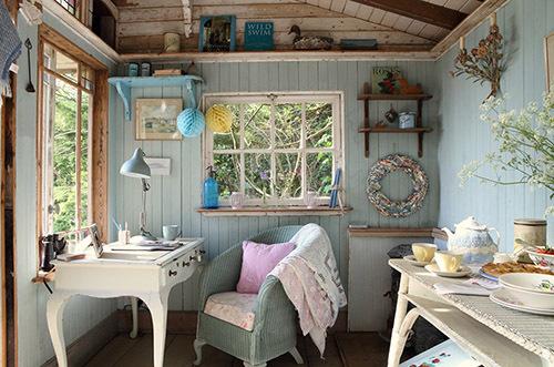 стиль Прованс в интерьере загородного дома фото