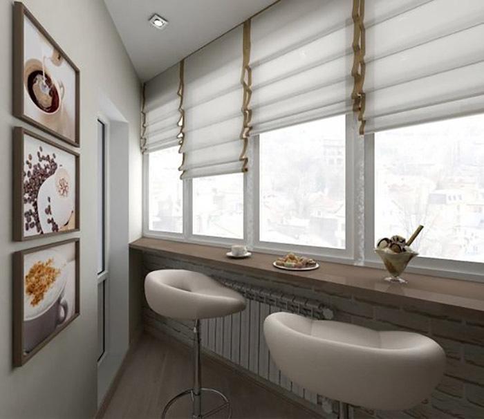 идеи для интерьера балкона фото