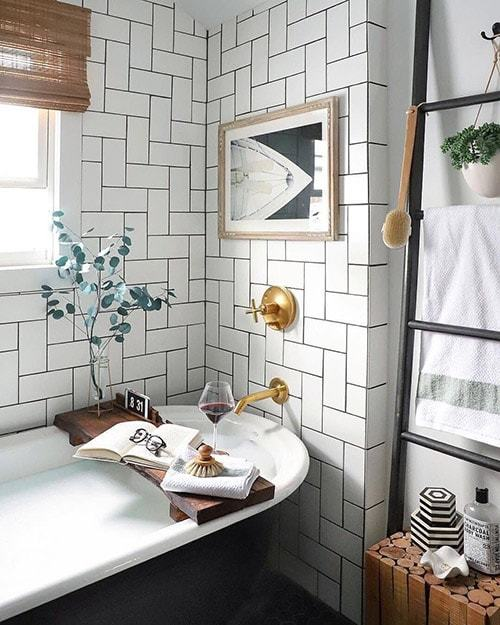 ванная комната в скандинавском стиле фото