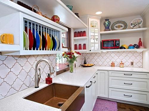 кухня без окна фото