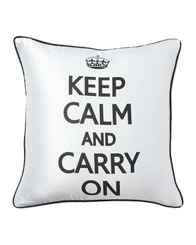 Подушка Keep Calm and Carry On