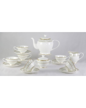 Сервиз Marbella 17 Pcs  tea Set